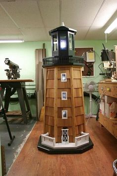 woodworking plan s lighthouse - Google Search                                                                                                                                                                                 More