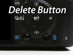 canon rebel xs camera body tutorial!