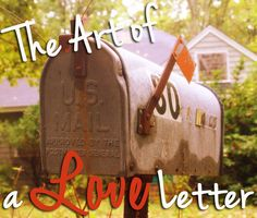 There is just something about a snail-mail, handwritten letter. It is a physical reminder that you took time to sit down and write to someone special. Here is some inspiration for when you are trying to craft that perfect love letter.