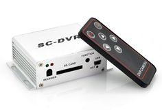 Mini DVR Security - gravação em SD Card e USB com comando