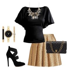 """""""PARTY"""" by j-liebichova on Polyvore featuring Creatures Of The Wind, Chanel and Style & Co."""