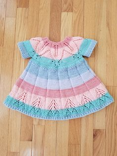 Ravelry: Project Gallery for Fairy Leaves Dress pattern by Yarnspirations Design Studio