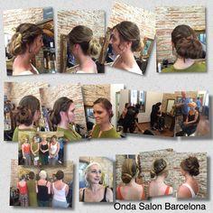 Día de boda en Onda Salon - Wedding day at Onda Salon, hair and makeup by THE ONDA SALON TEAM.  #diadeboda #weddingday #peinados #recogidos #maquillaje #hairstyles #hairup #makeup #diadebodabarcelona #weddingdaybarcelona #peluqueriabarcelona #ondasalobarcelona #peluqueria #ondasalon #ondasalonteam #peluqueriabarceloneta #barceloneta #barcelona