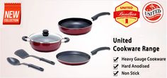 This festive season get exclusive offers on United Cookware. To avail offers and discounts join with #UnitedBandhan ad make your cooking experience better.