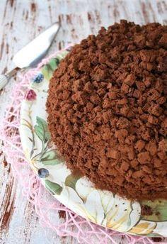 Torta mimosa al cioccolato,Oggi cucina nonna Virginia