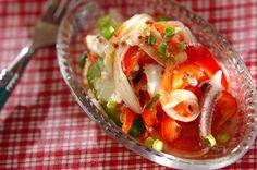 プリッと柔らかいイカをサッパリおいしいマリネに!イカのマリネ/杉本 亜希子のレシピ。[洋食/前菜]2015.03.09公開のレシピです。