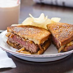 Patty Melts Recipe - Cook's Country  These are awesome!  Made for dinner tonight....