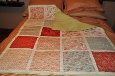 lap quilt my friend Debby and I made