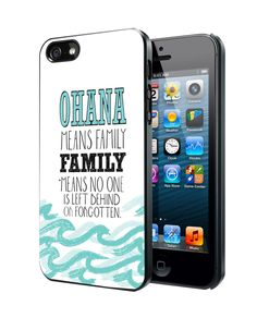 ohana means family lilo and stitch disney Samsung Galaxy S3/ S4 case, iPhone 4/4S / 5/ 5s/ 5c case, iPod Touch 4 / 5 case