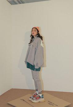 Look at this Fashionable korea fashion clothing - Korean fashion Korean Fashion Trends, Korean Street Fashion, Korea Fashion, Asian Fashion, Set Fashion, Look Fashion, Fashion Outfits, Womens Fashion, Fashion Design