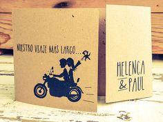 Invitaciones de boda personalizadas Print the Legend Helenca & Paul por @printthelegend #invitaciones #printthelegend #invitacionesdeboda #bodas