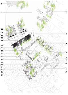 Europan 12 : Fosses, 2:pm architectures + Flavien Bézy Urbaniste + Julien Rouger - BETA