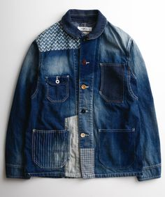 PATCHWORK COVERALL 3YR WASH