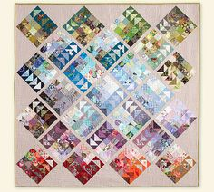 Geese Migration Quilt Free Quilt Pattern from Dear Quilty + GIVEAWAY | Sew Mama Sew | Outstanding sewing, quilting, and needlework tutorials since 2005.