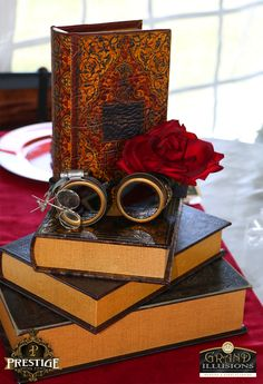 steampunk centerpiece