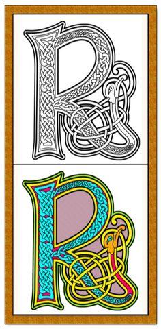 5 Celtic Knots Mandala Adult Coloring Pages PDF Download DIY Rose