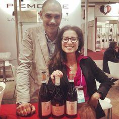 ...Sara and Andrea at Expovinis Fair in San Paulo do Brasil 2014