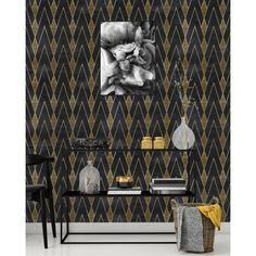 Kerry Gatsby L x W Peel and Stick Wallpaper Panel Wallpaper Panels, Self Adhesive Wallpaper, Peel And Stick Wallpaper, Wallpaper Murals, Colorful Wallpaper, Cool Wallpaper, Decorative Panels, Decorative Pillows, Gatsby