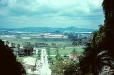 KL in the 70s - View from Batu Caves