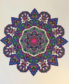 ColorIt Mandalas Volume 2 Colorist: Janice Komoroski #adultcoloring #coloringforadults #mandalas #mandalastocolor
