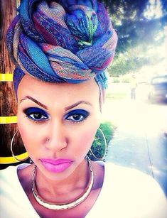 gorgeous head wrap!