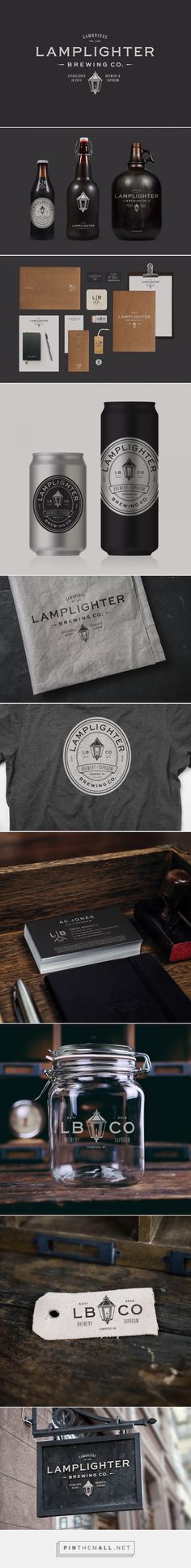 Lamplighter Brewing Co. Branding and Packaging by Bluerock Design Co. | Fivestar Branding Agency – Design and Branding Agency & Curated Inspiration Gallery