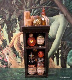 Werewolf Protection cupboard by Dark Squirrel Miniatures ~
