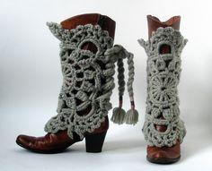 Crochet Boot Cover