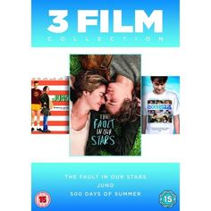 http://ift.tt/2dNUwca | Fault In Our Stars/Juno/500 Days Of Summer DVD | #Movies #film #trailers #blu-ray #dvd #tv #Comedy #Action #Adventure #Classics online movies watch movies  tv shows Science Fiction Kids & Family Mystery Thrillers #Romance film review movie reviews movies reviews