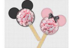 les boules surprises Mickey et Minnie remplis de bonbons marshmallow