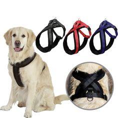 Doglemi Fleece-Padded Heavy-Duty Dog Harness