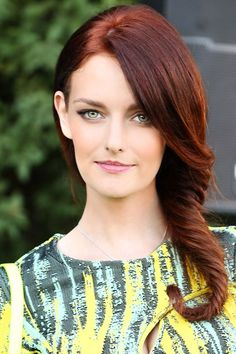 dark red hair colors | Hairstyles 2015 New Haircuts and Hair Colors form Newest-Hairstyles.com