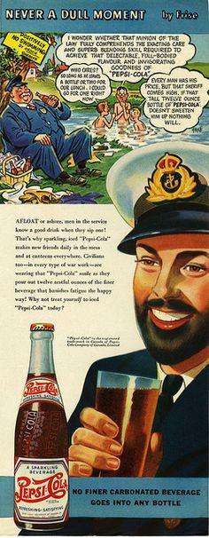 Is that Captain Obvious? Coca Cola, Pepsi Ad, Coke, Vintage Signs, Vintage Ads, Vintage Posters, Vintage Soft, Funny Vintage, Old Advertisements