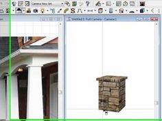Building A Craftsman Style Column in Chief Architect
