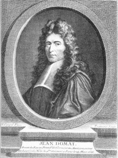 Jean Domat, o Daumat, (30 de noviembre de 1625 — 14 de marzo de 1696), jurista francés.