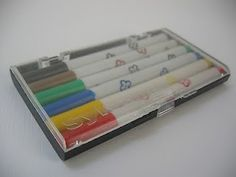 Los marcadores Retro, Nostalgia, Childhood, Vintage, Antiques, School, Larry Wilcox, Brazil, Design