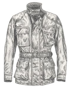 The Belstaff Trialmaster Jacket dates back to when Belstaff hit mud-caked, sweat-laden, road-rashed gold with the debut of the brand's most iconic outerwear piece.