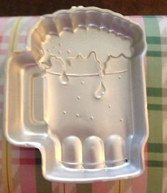 Wilton beer mug Stein cake pan mold More<br> Beer Mug Cake, Beer Cakes, Shaped Cake Pans, Baking Gadgets, Wilton Cake Pans, Candle Wedding Centerpieces, Cake Craft, Beer Bread, Unique Recipes