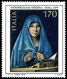 post stamp italia 1979 - antonello da messina