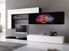 Exential ART Wall Unit Lodola 1