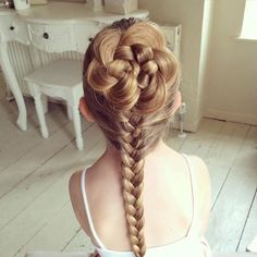 A cute alternative to a French Braid | Sweethearts Hair Design