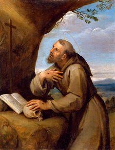 The Athenaeum - St Francis of Assisi (Francesco Albani - )