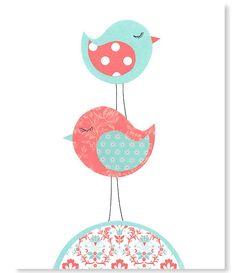https://www.etsy.com/es/listing/185212248/nursery-art-print-bird-aqua-and-coral?ref=related-4