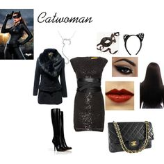 A fashion look from January 2013 featuring sequin mini dress, Jane Norman and leather knee high boots. Browse and shop related looks. Geek Chic Fashion, Jane Norman, Sequin Mini Dress, Catwoman, Harley Quinn, Beautiful Outfits, Fashion Looks, Style Inspiration, Shoe Bag