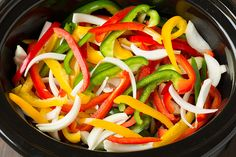 We have mexican at least once a week. Chicken fajitas in a crockpot-sold!!!