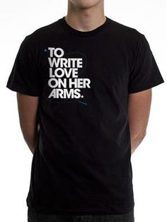 To Write Love on Her Arms Official Online Store - Title Guys Shirt