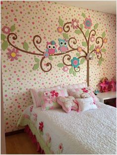 Owl Theme Bedroom Decorating Ideas Decor Room Decorations Themed Baby Nursery Owls Wall Stickers Bedding Prints