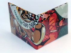 Comic Book Wallet// Catman and Deadshot, $4.00