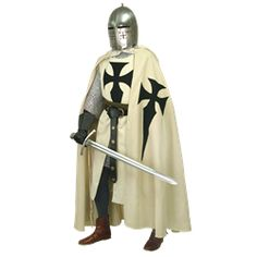 Crusader Clothing, Crusader Surcoats, Crusader Capes, and Knights Clothing from Dark Knight Armoury