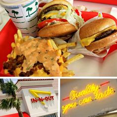 This no red meat thing is starting to get to me. #InNOut #burgers